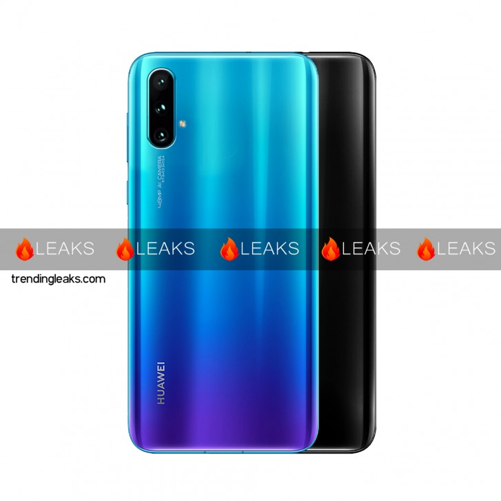Alleged Huawei Nova 5 Cases And Early Render Leak Online