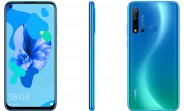 Huawei P20 lite 2019 leaked with hole punch display and quad camera setup