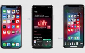 iOS 13's Dark Mode reveals itself in leaked screenshots