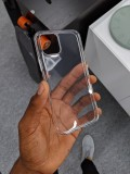 Alleged iPhone XI cases showing a hole for the square camera hump