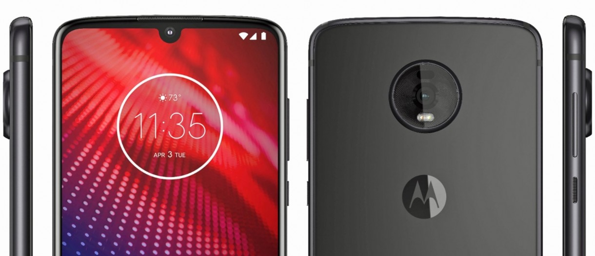 Image result for moto z4 gsmarena