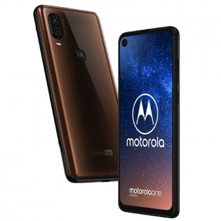 Motorola One Vision in Brown color