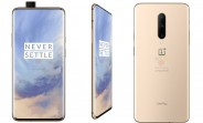 OnePlus 7 Pro now leaks in Almond color version in official-looking press renders