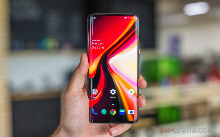 OnePlus 7 Pro has a