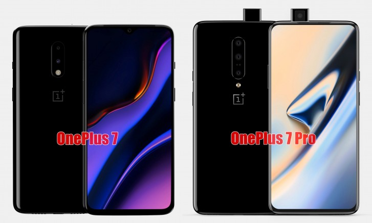 OnePlus 7 and OnePlus 7 Pro full specs sheet is out