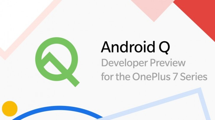 OnePlus 7 and 7 Pro get Android Q Developer Preview 2