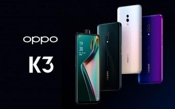 Oppo K3 price, hands-on photos and battery capacity leak