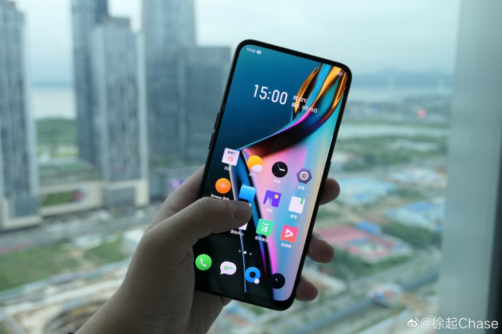 Realme X image leak shows the phone's notch-less display