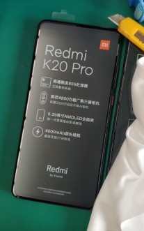 Redmi K20 Pro retail package