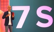 Redmi Note 7S shown in live image