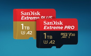 SanDisk Extreme 1TB microSD card now available for $450