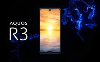 Sharp Aquos R3 announced with Snapdragon 855 SoC, 120Hz dual-notch display