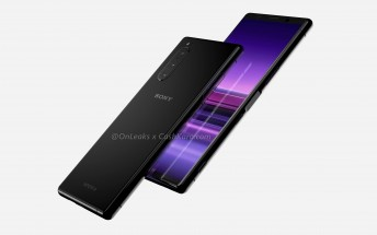 Sony Xperia 2 appears in renders