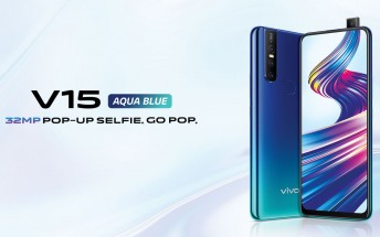 vivo V15 Aqua Blue variant and V15 Pro with 8GB RAM launched in India