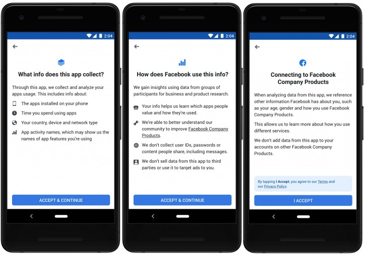 Facebook launches app that will pay users for their data