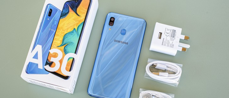 Samsung Galaxy A30 in for review