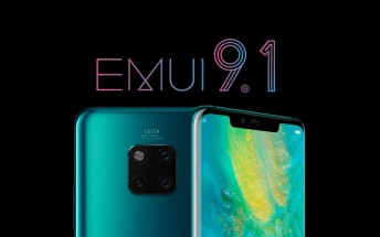 All premium Huawei Mate 20 series phones can now be updated to EMUI 9.1