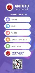 Huawei nova 5 Antutu score