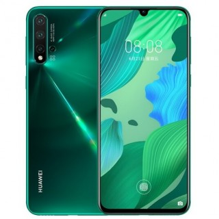 Huawei nova 5 in Green and Orange