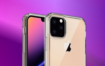 iPhone XI cases show a Lightning port, offer another look at the square camera hump