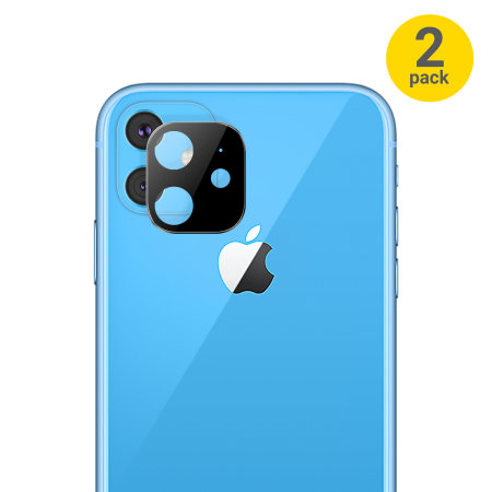 The iPhone 11R will also have a square camera hump but with only two cameras