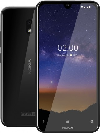 Nokia 2.2 in Tungsten Black color