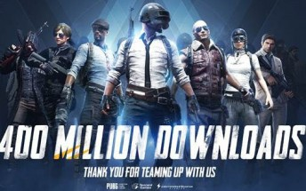 PUBG Mobile hits 400 million downloads, new update brings 4v4 team deathmatch