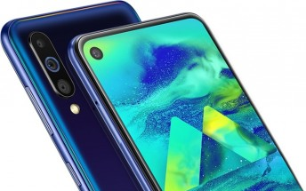 Samsung Galaxy M40 announced with Infinity-O display, Snapdragon 675 and triple camera