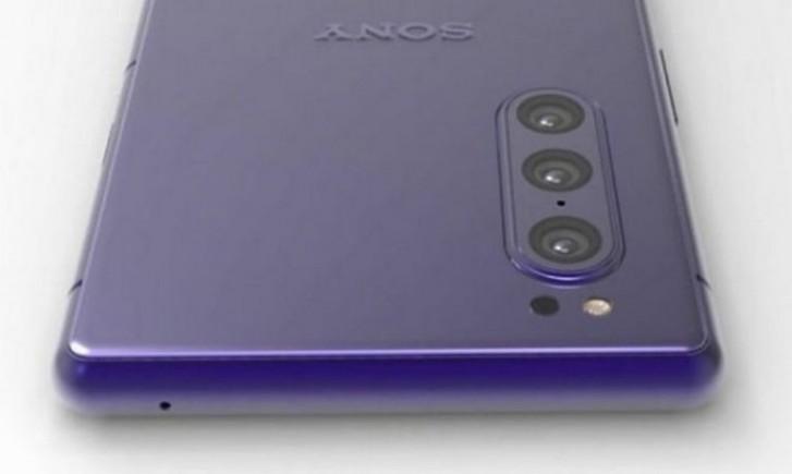 New triple cam Sony phone pops up - Xperia 1s or 1v - GSMArena com news