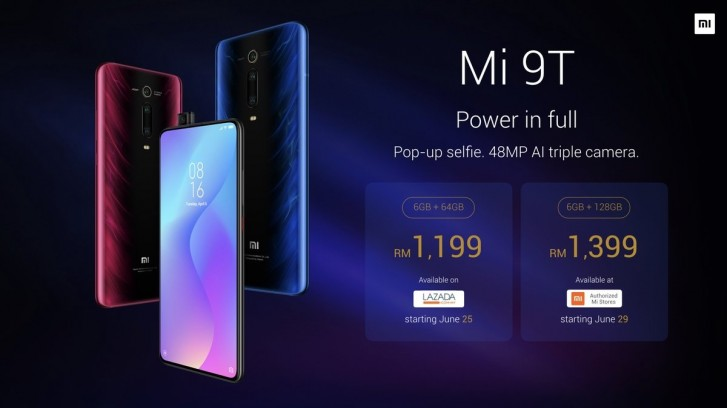 Harga Xiaomi MI 9T di Malaysia
