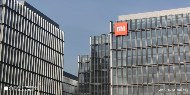 A photo of the new Xiaomi headquarters by Donovan Sung, Director of Product Management