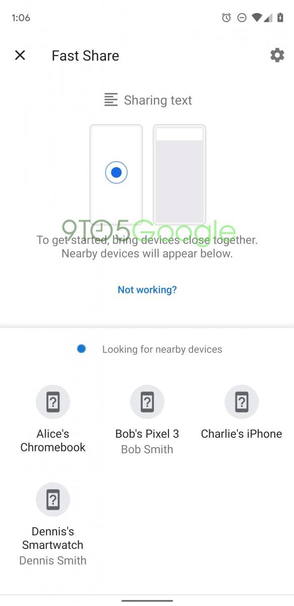 خدمة Fast Share بديل جوجل لخدمة Android Beam السابقة 1