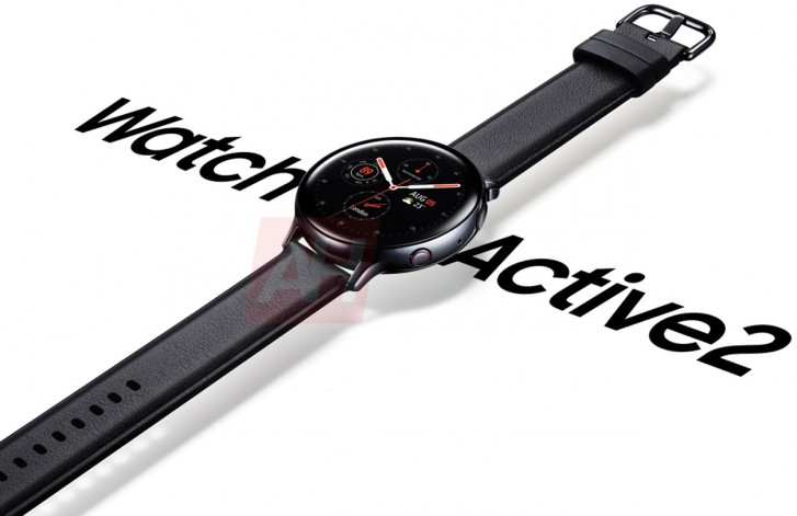 Samsung Galaxy Watch Active2 Official Render Leak Confirms Rumors