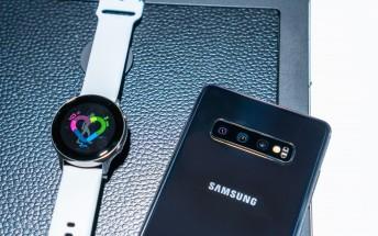 Samsung Galaxy Watch Active receives a major OTA update