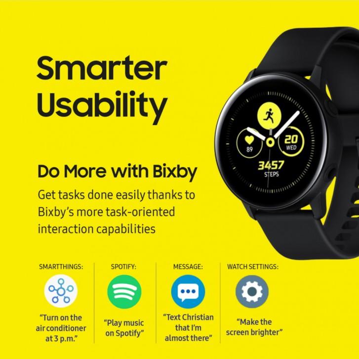 Samsung Galaxy Watch Active receives a big OTA update