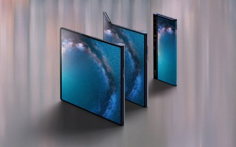 Huawei Mate X posters spotted in Chinese shop, hinting that the launch is near