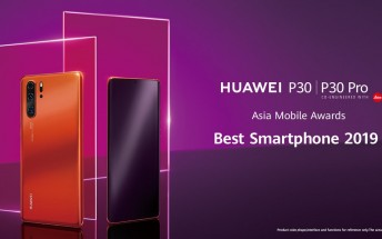 Huawei P30 and P30 Pro earn Best Smartphone 2019 award at MWC Shanghai