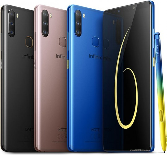 Infinix Note 6 announced with Helio P35 SoC, triple camera, and an X Pen stylus
