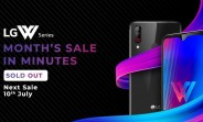 LG W10 and W30 sell out in minutes on Amazon India