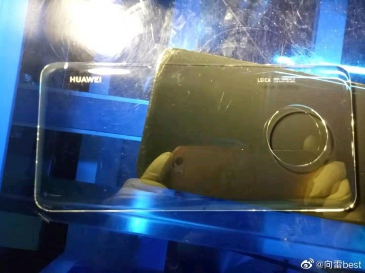 Alleged back glass for Huawei Mate 30 Pro leaks, shows huge circular camera cutout