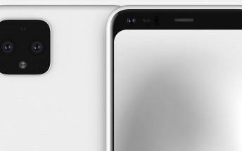 Google Pixel 4 pictured in new renders, screen protectors confirm the design