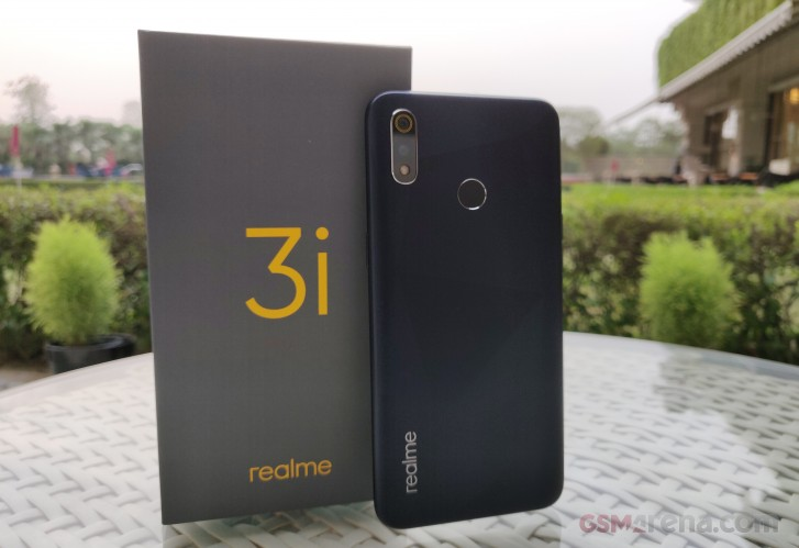 Realme 3i comes to India with Helio P60, 4,230 mAh battery and diamond-cut back deisgn