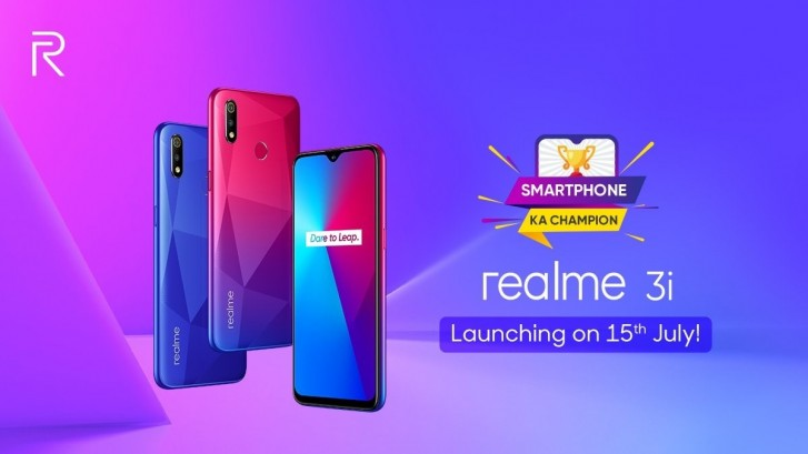 Realme 3i to feature a 6.22'' display