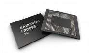 Samsung starts mass producing 12Gb LPDDR5 DRAM ahead of Galaxy Note10 launch