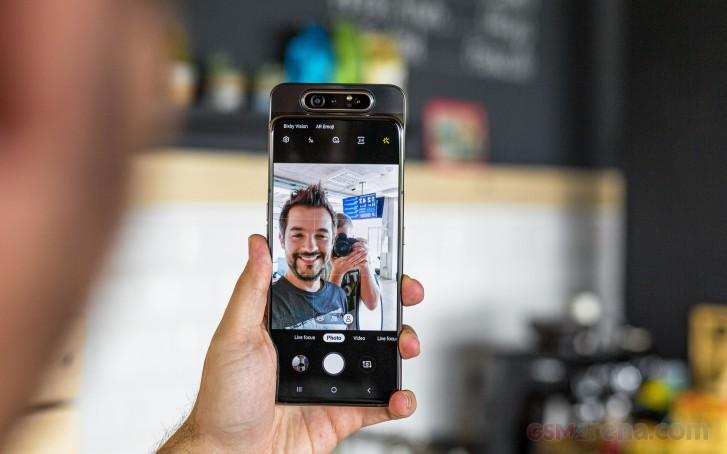 Samsung Galaxy A80 goes on sale