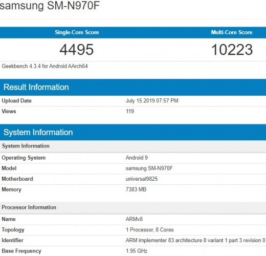 Galaxy Note 10 will be powered by new Exynos, same Snapdragon SoC