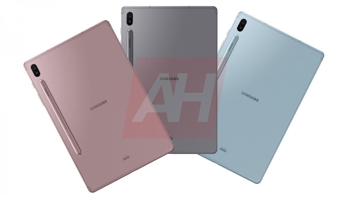 تسريب صور Galaxy Tab S6 القادم مع مواصفاته المتوقعة 1