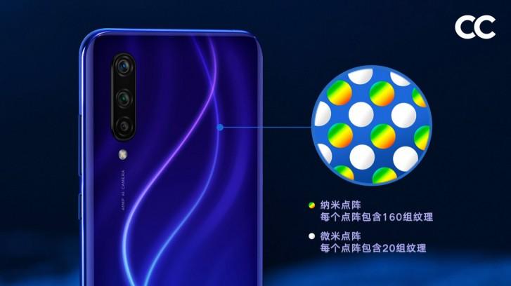 Μια πιο προσεκτική ματιά στο πώς η Xiaomi δημιούργησε τις ιριδίζουσες πλάτες των Mi CC9 και CC9e