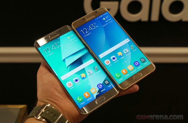 Samsung Galaxy Note5 and S6 edge+ hands-on