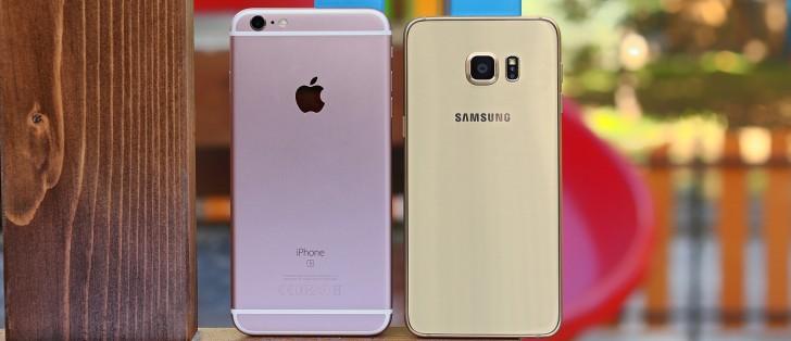 apple iphone 6s plus vs samsung galaxy s6 edge gsmarena com tests